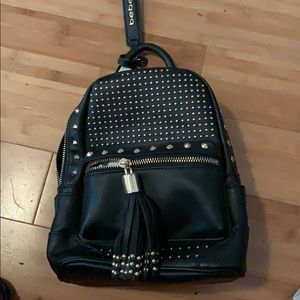 Bebe leather backpack